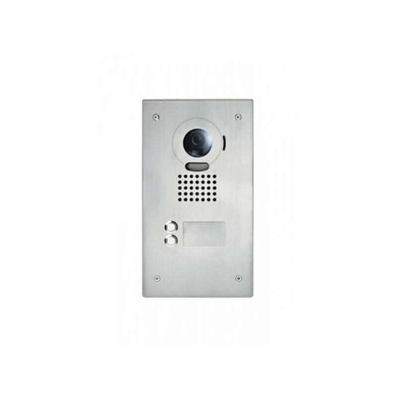 AIPHONE Platine de rue JO2DVF 2 touches pour portier vidéo AIPHONE - encastrée