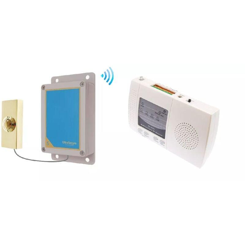 Ultra Secure - Sonnette sans-fil extérieure 900m longue distance bouton