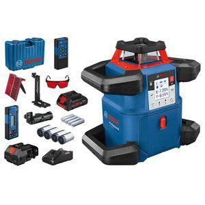 BOSCH Laser rotatif connecté double pente GRL 600 CHV   0601061F00 - Bosch - Publicité