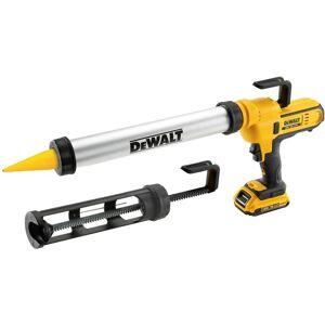 DeWALT DCE581D1 Pistolet à mastic sans fil 300-600 ml - 18V - 2,0Ah - Publicité