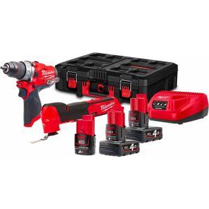 MILWAUKEE Kit Power Pack Milwaukee M12 FPP2AX-423P - Publicité