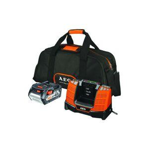 A.e.g - Pack batterie AEG 18V Li-Ion 4.0Ah et chargeur SET L1840BL - Publicité