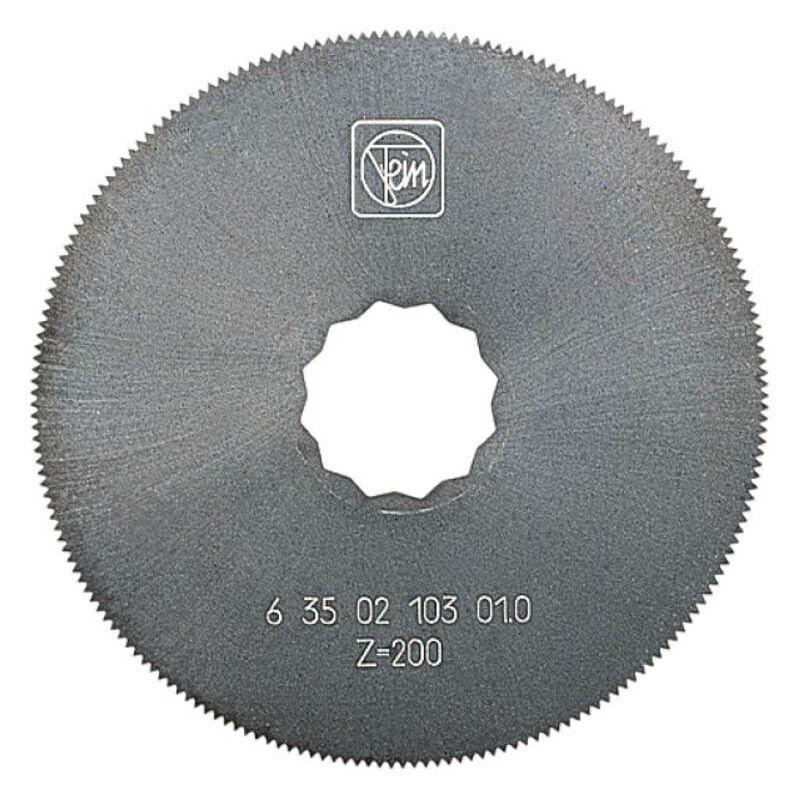 FEIN Lame de scie circulaire HSS, 63 mm de diamètre, lot de 2 63502102016