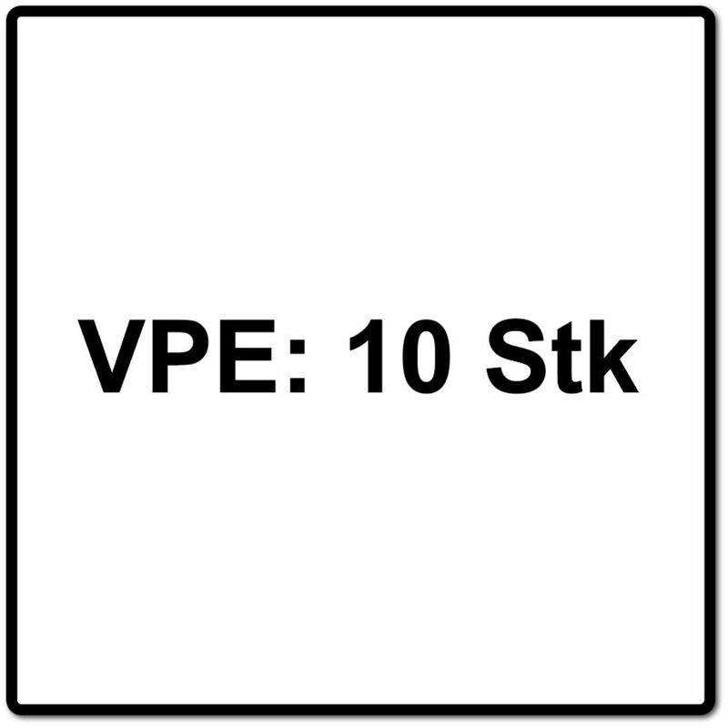 Fein E-Cut Starlock Plus Lame de scie de précision 50x65 mm - HCS, 10