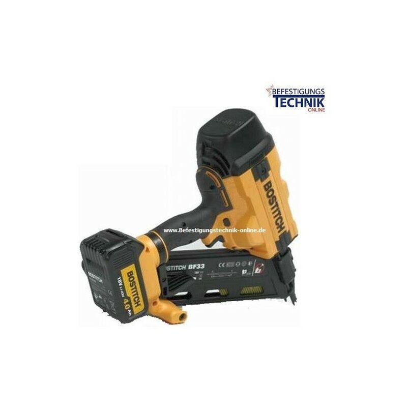 BOSTITCH 34° 90mm Bostitch cloueur charpente sans fil BTCN565 18V 2x4,0Ah