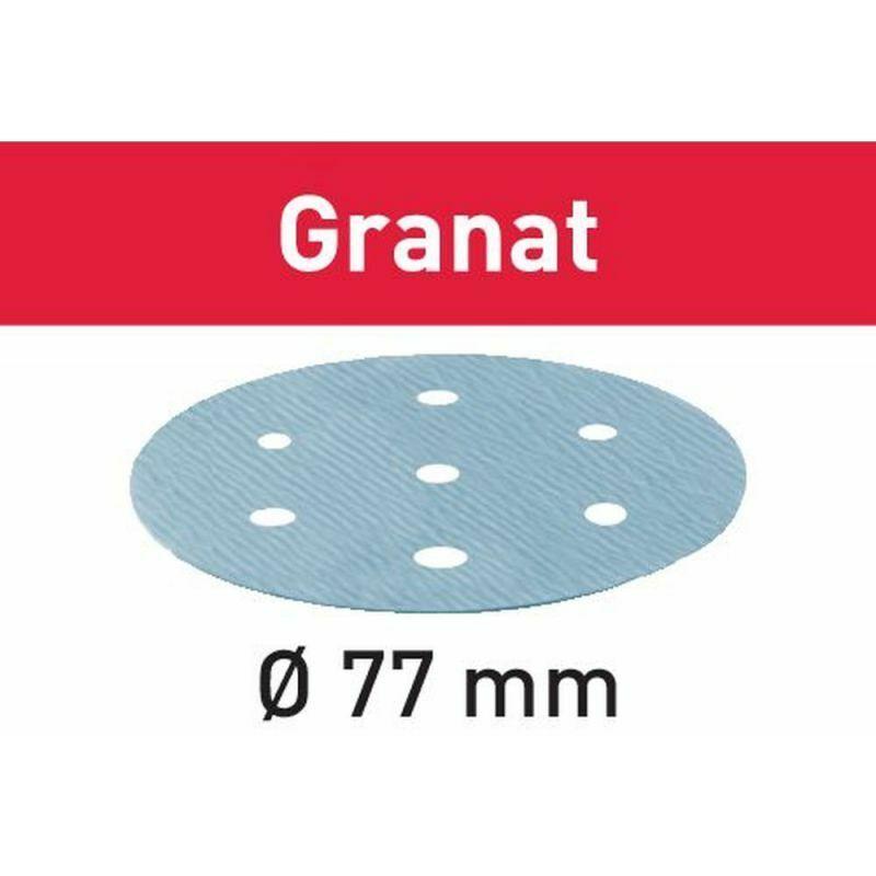Festool Abrasifs STF D 77/6 P1000 GR/50 Granat