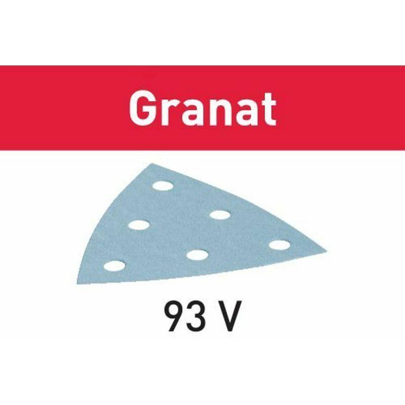 FESTOOL VERBRAUCHSMATERIAL 3 Festool Abrasifs STF V93/6 P400 GR/100 Granat