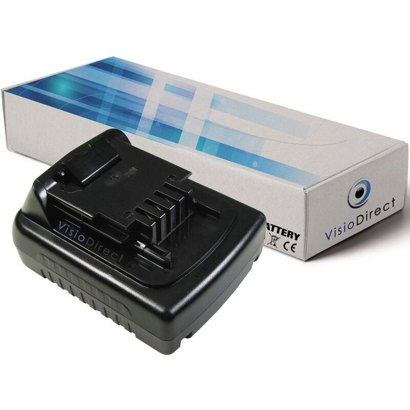 VISIODIRECT Batterie pour Black et Decker ASL148KB perceuse sans fil 1500mAh 14.4V
