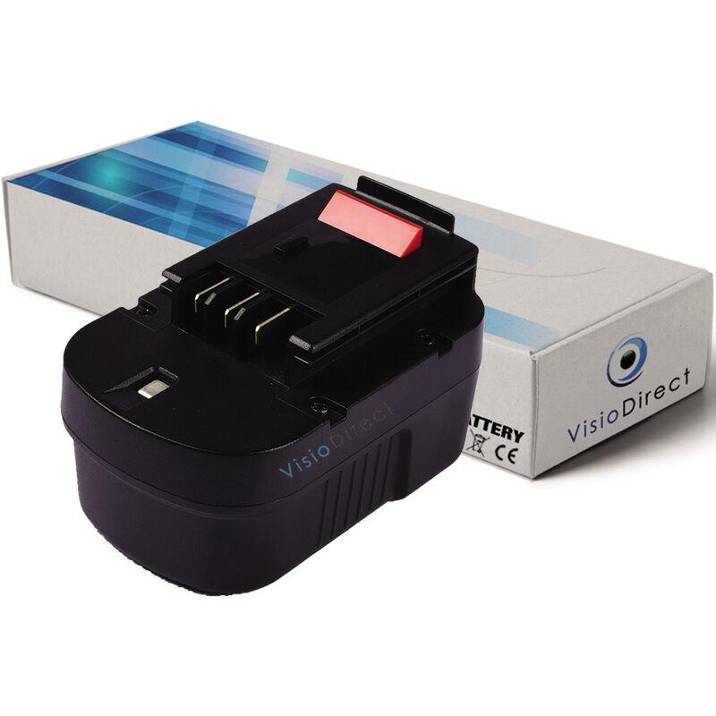 VISIODIRECT Batterie pour Black et Decker CD142SK perceuse sans fil 3000mAh 14.4V