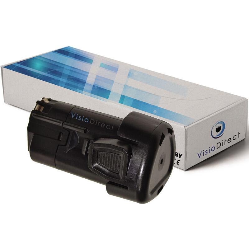 VISIODIRECT Batterie pour Black et Decker HPL10IM visseuse à percussion 1500mAh