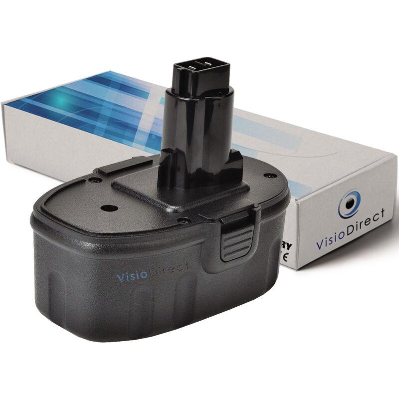 VISIODIRECT Batterie pour DEWALT DW935K scie circulaire 3000mAh 14.4V