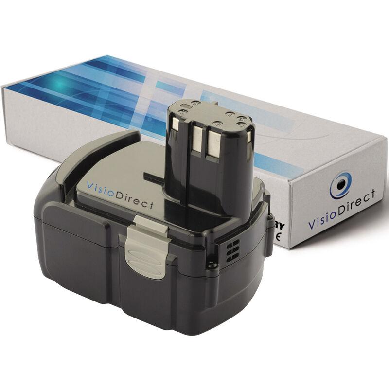 VISIODIRECT Batterie pour Hitachi CJ14DL scie sauteuse 2000mAh 14.4V - VISIODIRECT