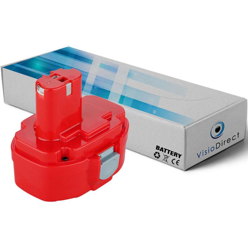 VISIODIRECT Batterie pour MAKITA 4333DWD scie sauteuse 3000mAh 14.4V