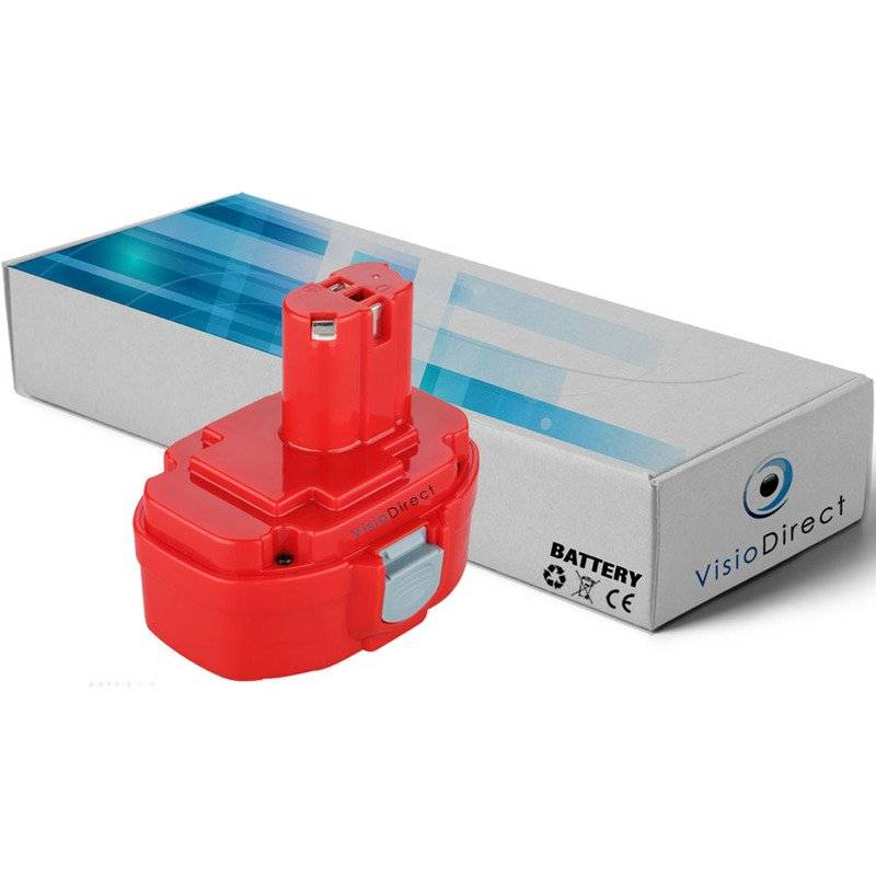 VISIODIRECT Batterie pour Makita 4334DWDE scie sauteuse 3000mAh 18V