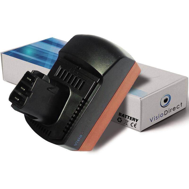 VISIODIRECT Batterie pour Metabo KSAP18Li scie circulaire 3000mAh 18V