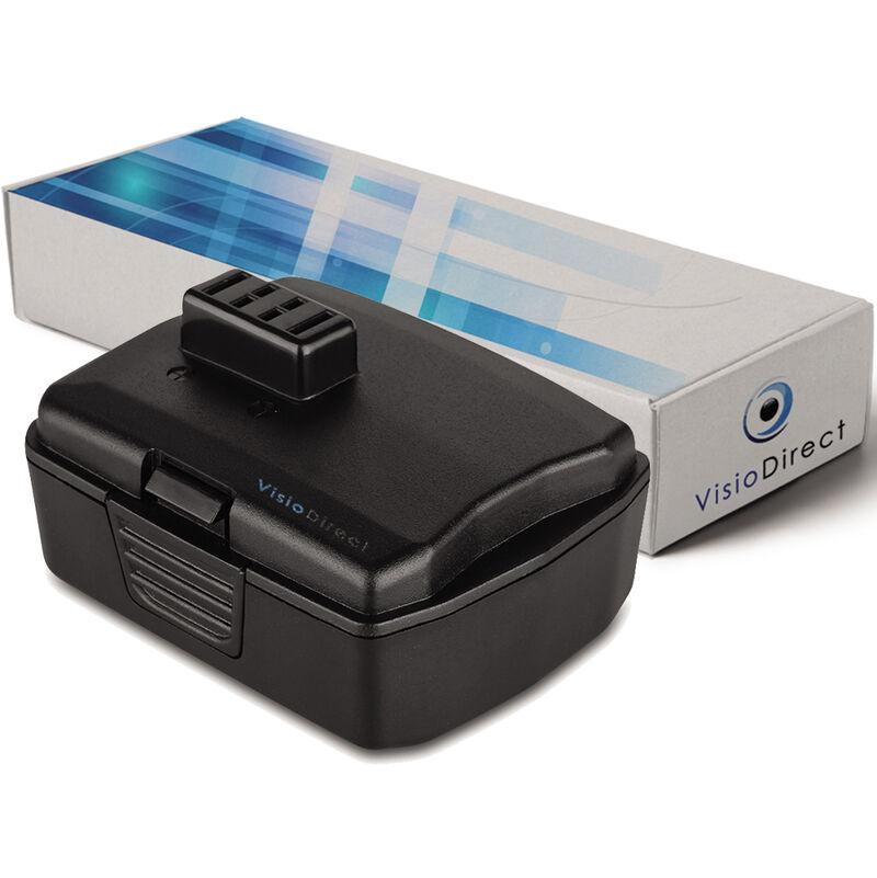 Visiodirect - Batterie pour Ryobi CS-1201 scie circulaire 2000mAh 12V
