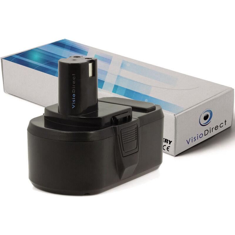 VISIODIRECT Batterie pour Ryobi CW-1800 scie circulaire 3000mAh 18V