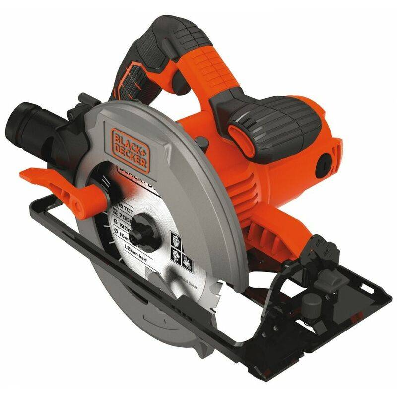 BLACK & DECKER Black&decker; - Scie circulaire 1500W Black + Decker CS1550 D190 mm
