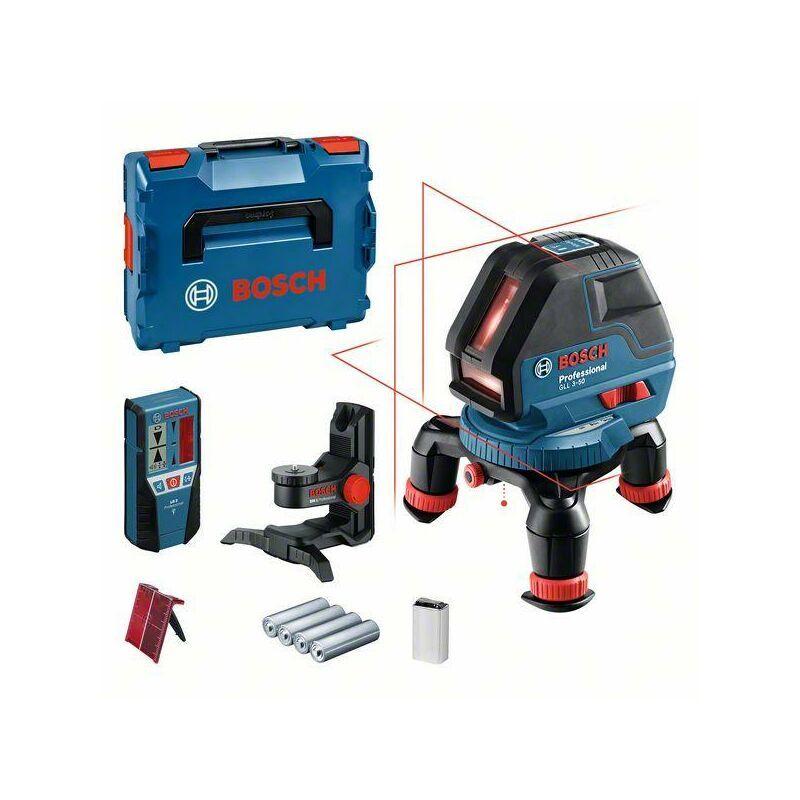 Bosch Laser lignes GLL 3-50, dans L-BOXX, assortiment d'accessoires