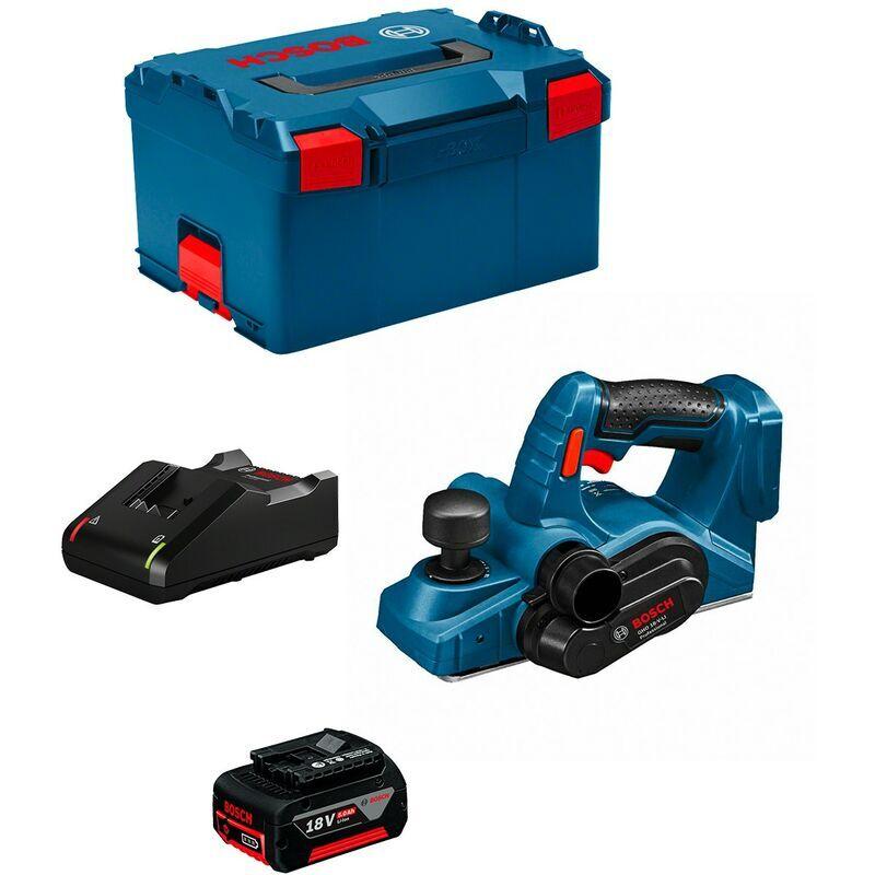 BOSCH Rabot BOSCH GHO 18 V-LI (1 x 5,0 Ah GAL1880CV L-Boxx 238)