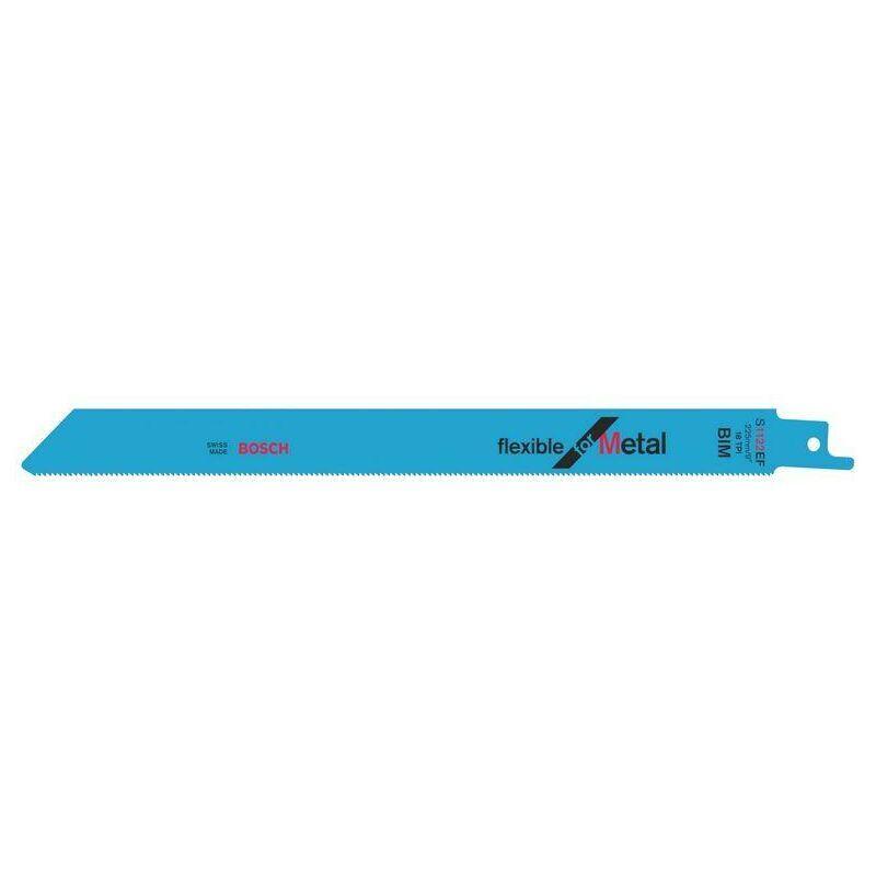 Dewalt - Bosch Lame de scie sabre S 1122 EF Flexible for Metal