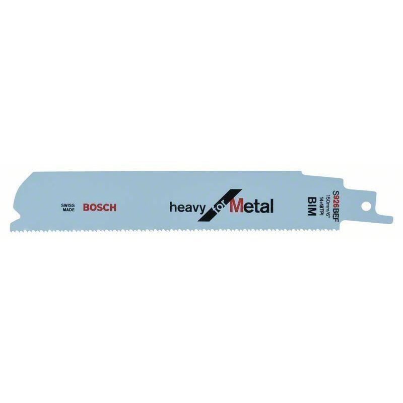 Bosch Lame de scie sabre S 926 BEF Heavy for Metal - 2608653067