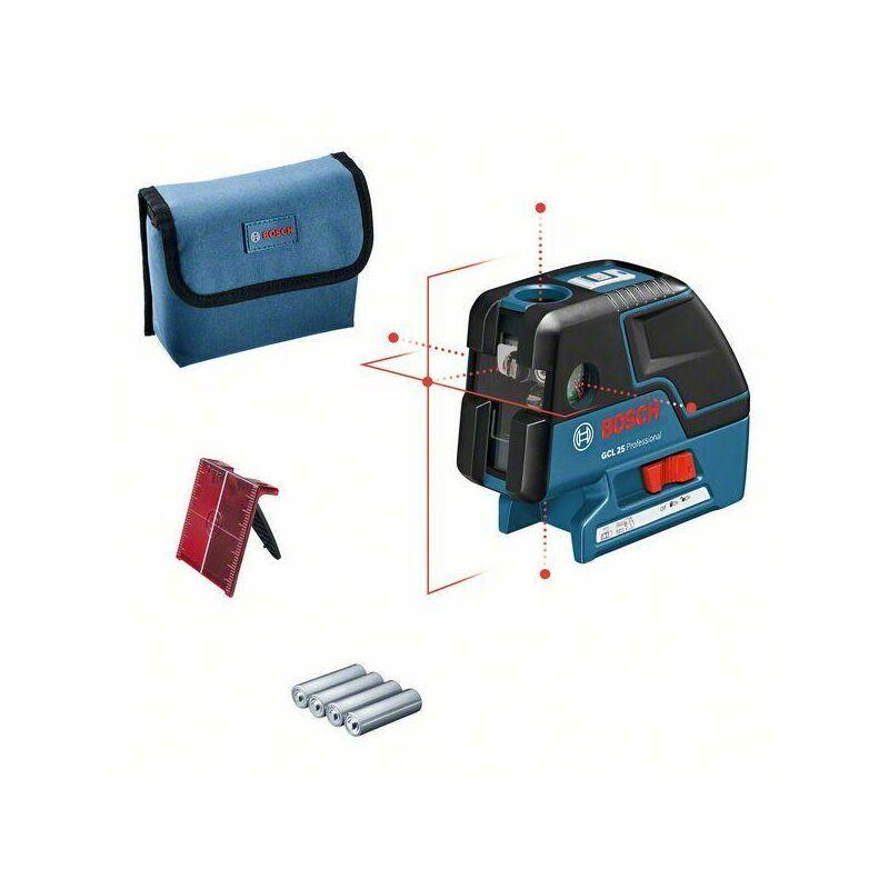 Bosch Laser points GCL 25 + accessoires - 0601066B00