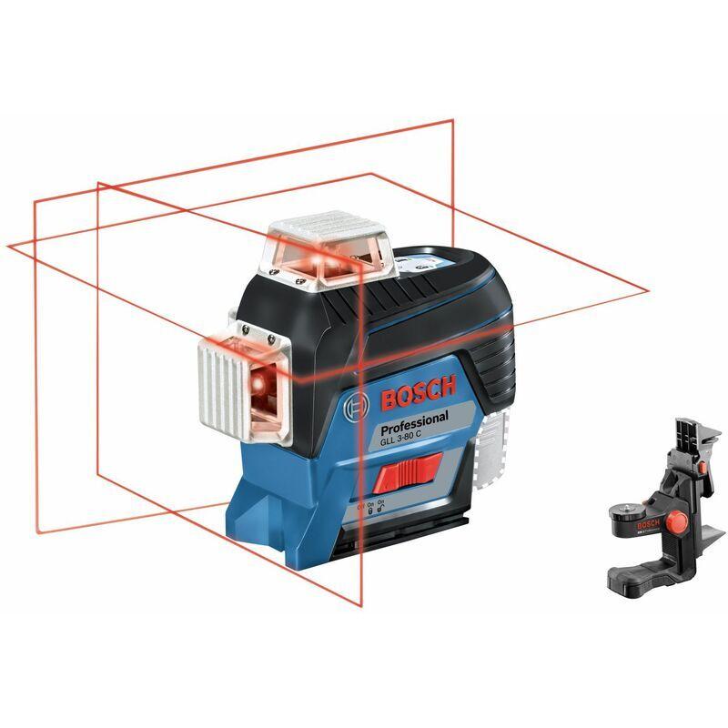 Bosch Professional Laser lignes GLL 3-80 C Professional, avec pack