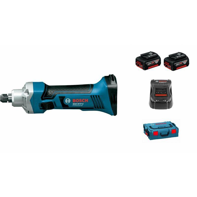 Bosch Professional Meuleuse droite sans fil GGS 18 V-LI avec 1