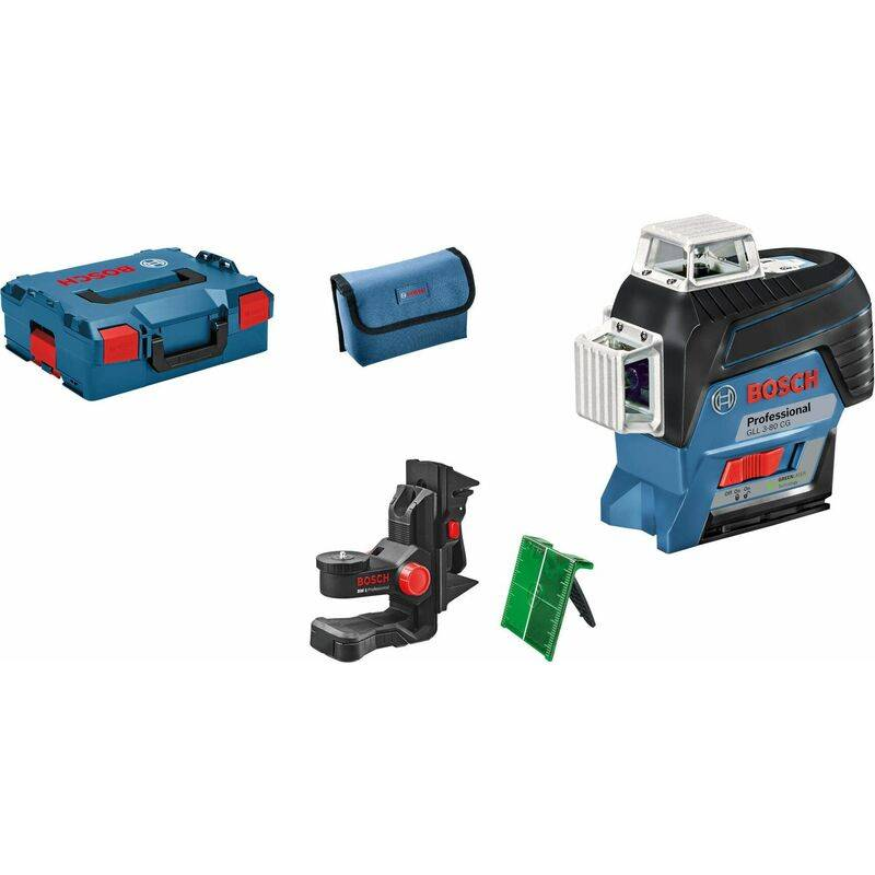 Bosch GLL 3-80 CG SOLO - Niveau laser Li-Ion 12V (machine seule) en