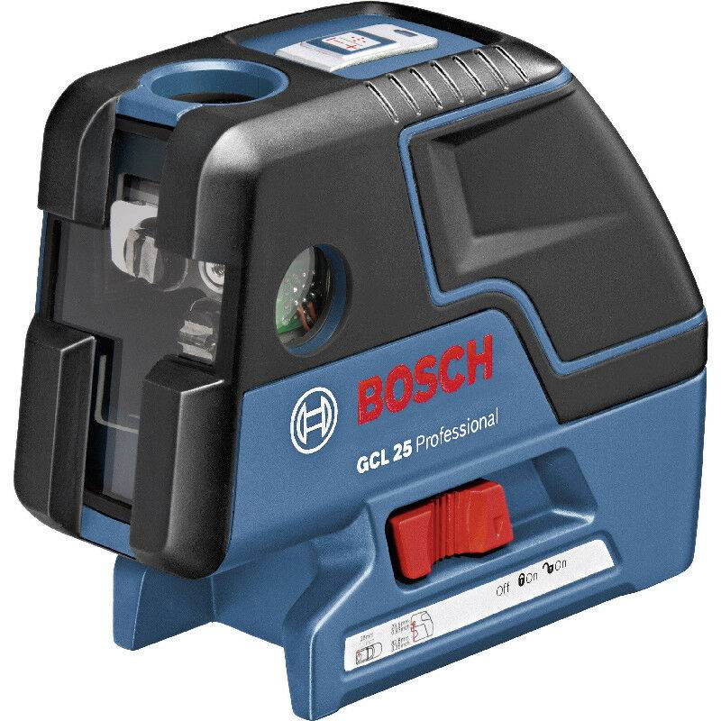 Bosch Laser points GCL 25 + Trépied BS 150 + accessoires - 0601066B01