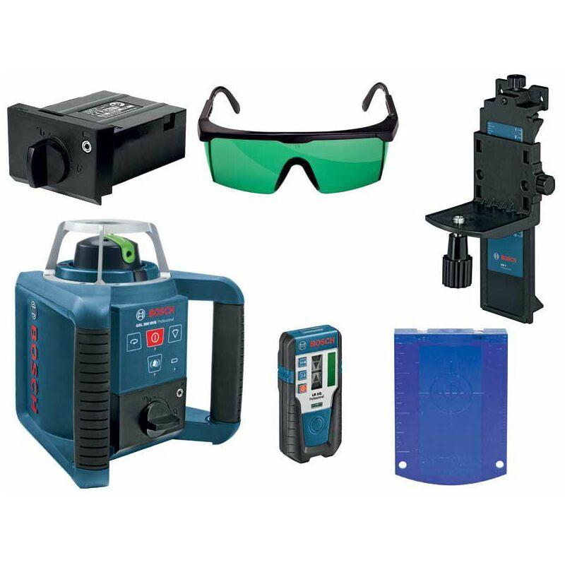 Bosch GRL 300 HVG - Laser rotatif dans coffret - accessoires inclus