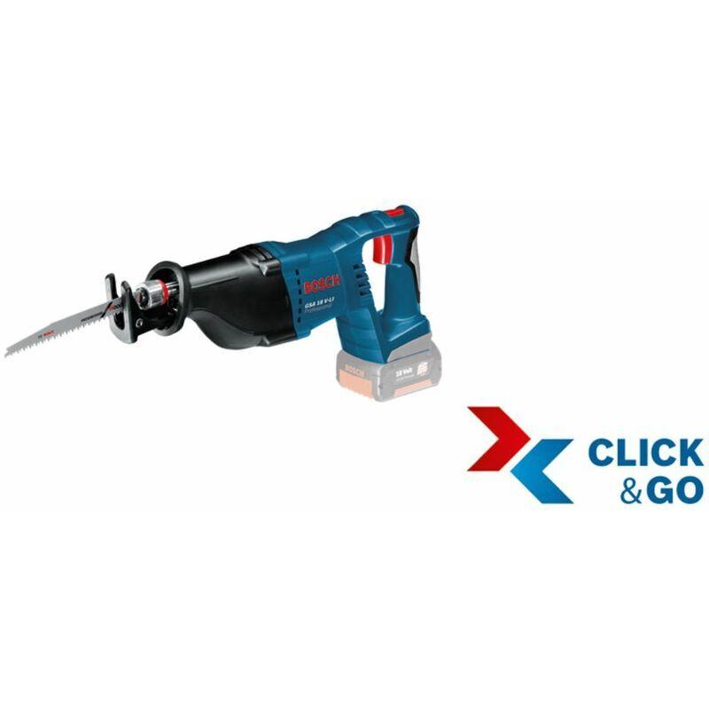 Bosch Scie sabre sans fil GSA 18 V-LI avec L-BOXX. sans batterie