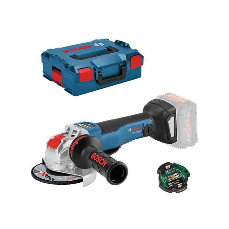 Bosch Professional Meuleuse angulaire sans fil GWX 18V-10 PSC, L-BOXX