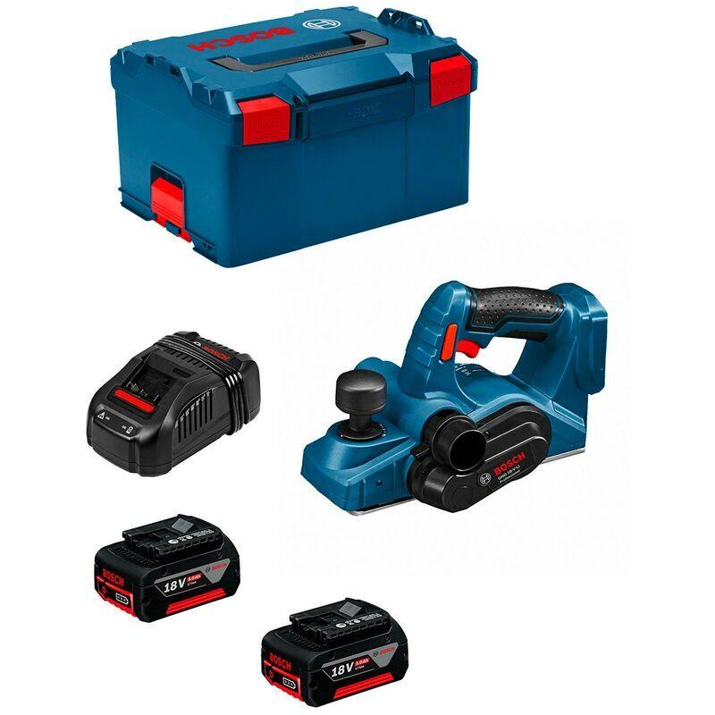 BOSCH Rabot BOSCH GHO 18 V-LI (2 x 5,0 Ah GAL1880CV L-Boxx 238)