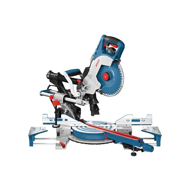 BOSCH Scie radiale à onglet BOSCH GCM 8 SDE 1600W Ø216mm - 0601B19200