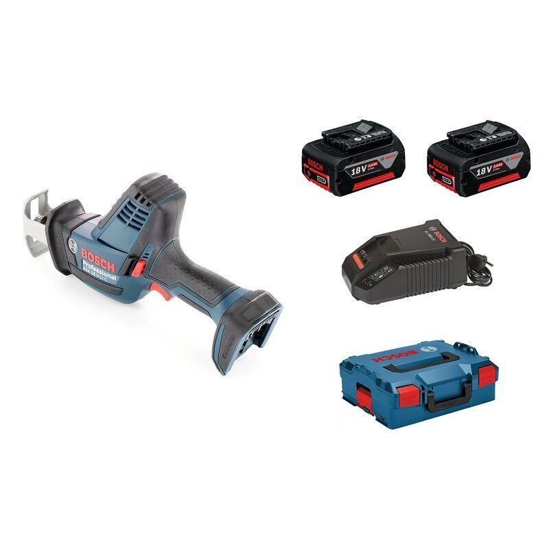 Bosch GSA 18 V-LI C Scie sabre à batteries 18V Li-Ion set (2x batterie