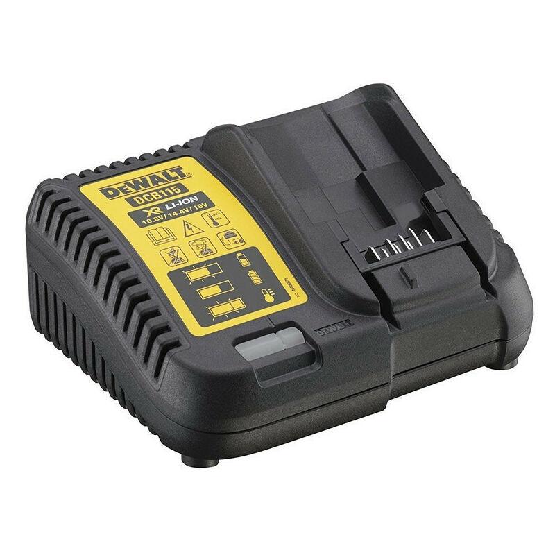 DEWALT Chargeur de batteries XR Li-Ion 10,8V - 14,4 - 18V - DEWALT DCB115