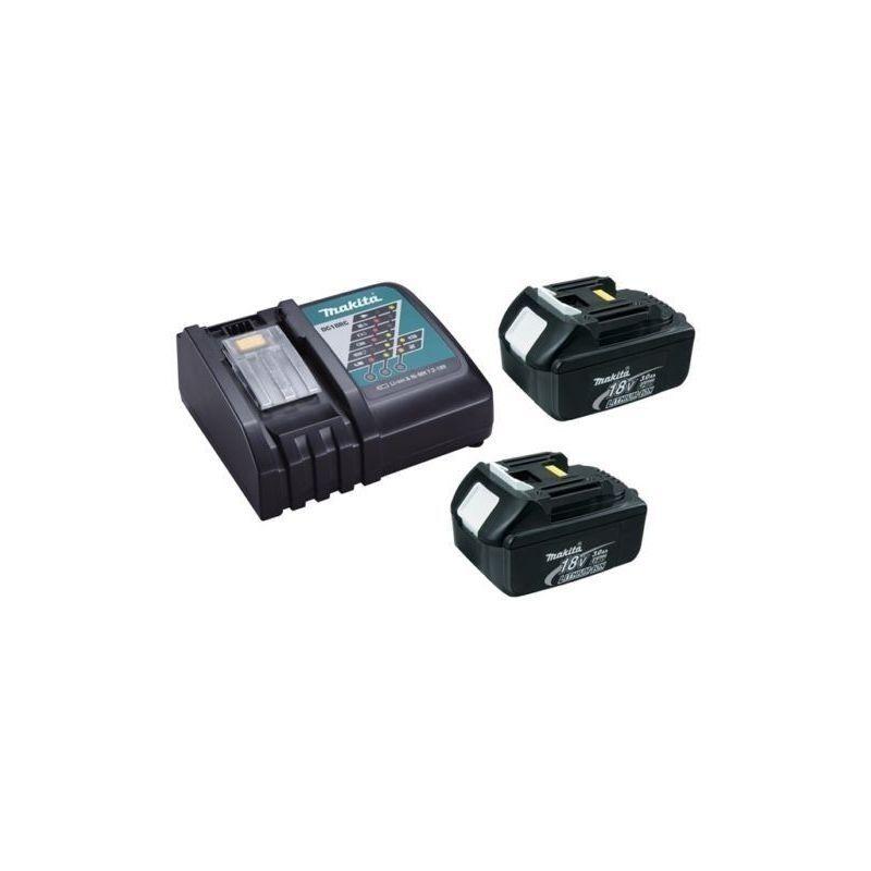 MAKITA Chargeur rapide Makita DC18RC + 2 batteries 18v BL1840B 4Ah Li-ion LXT