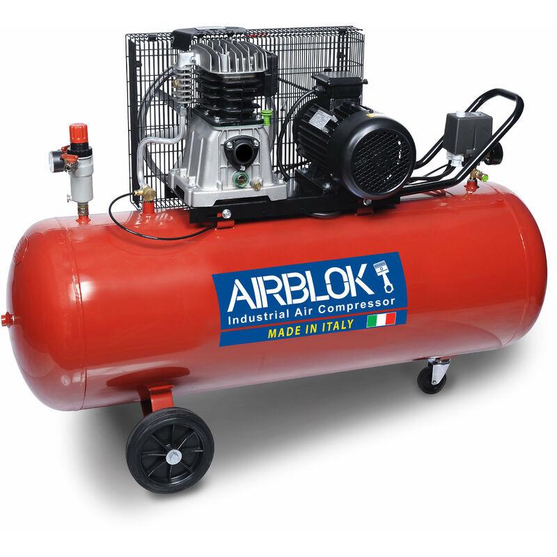 AIRBLOCK Compresseur 200 Litres 3 CV 11 bars AirBlock