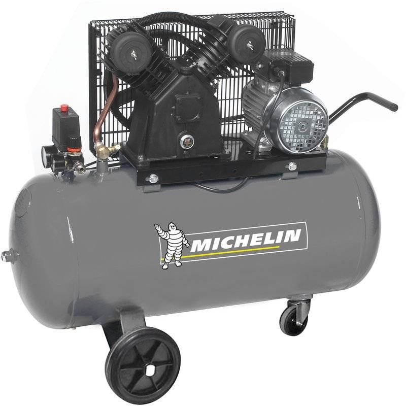 MICHELIN Compresseur Michelin 100 Litres 3 CV 10 bars avec trousse accessoires