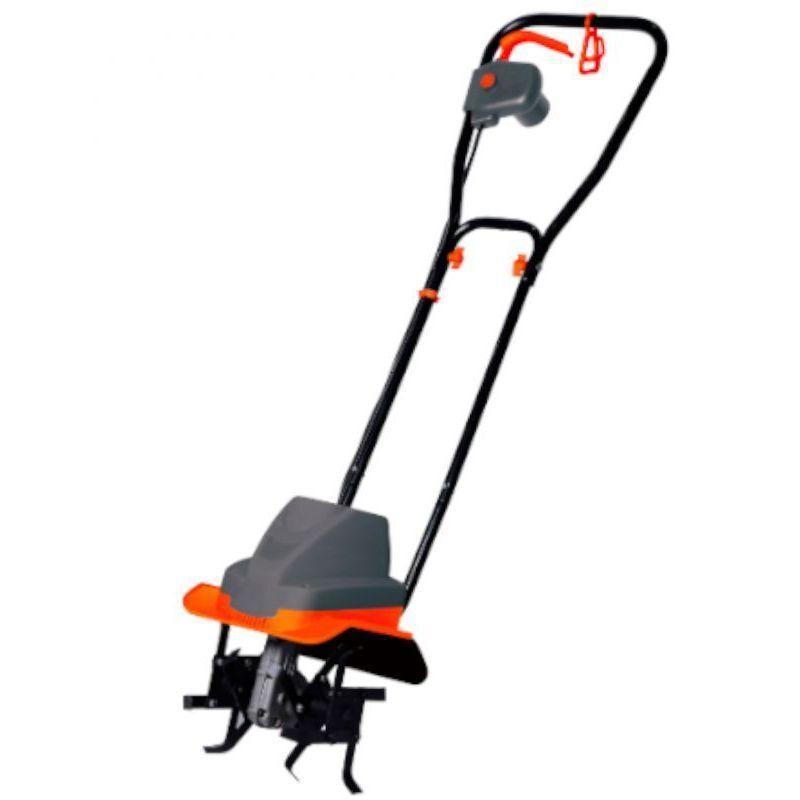 DCRAFT | Motobineuse électrique | Régime moteur 400 tr/min | Puissance : 1500 W | Largeur de travail 300 mm | Outillage jardinage | Noir – Noir