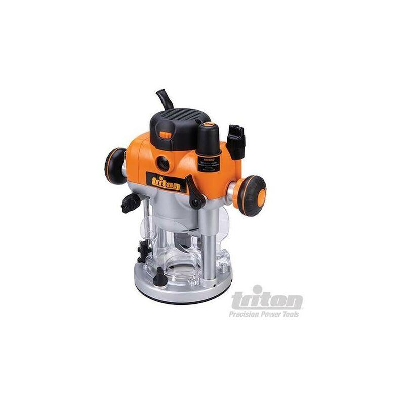 Triton - Défonceuse de précision bi-mode plongeante 2 400 W, TRA001 (UK)