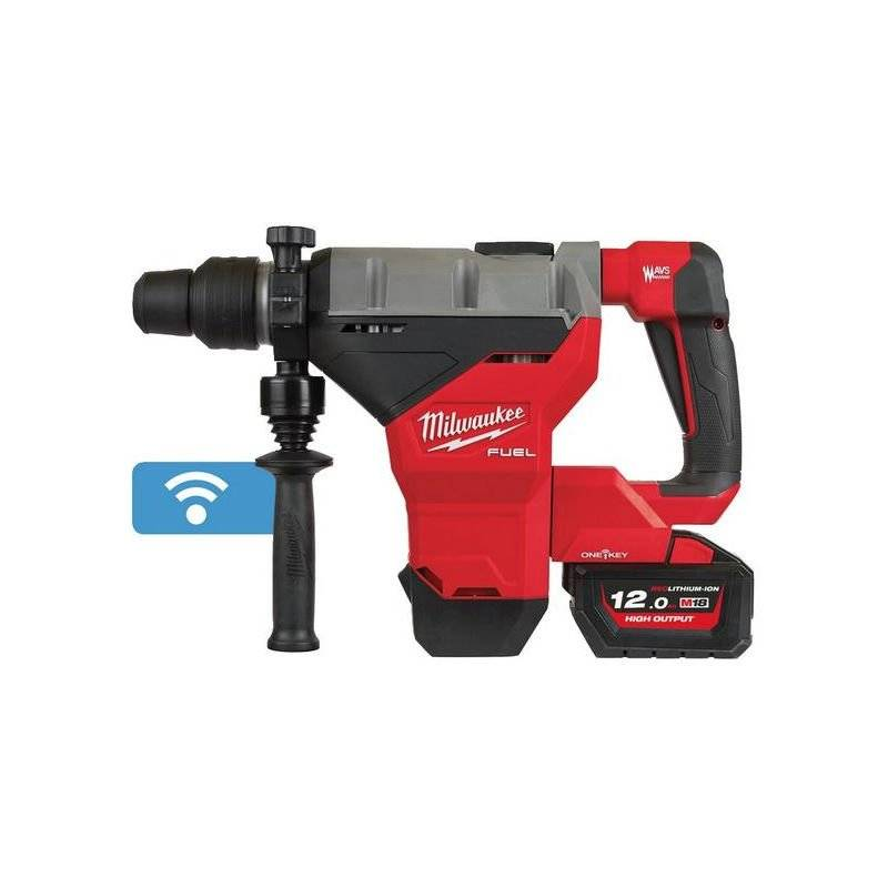 MILWAUKEE Perforateur burineur SDS-Max autostop M18FHM-121C MILWAUKEE - 4933464894