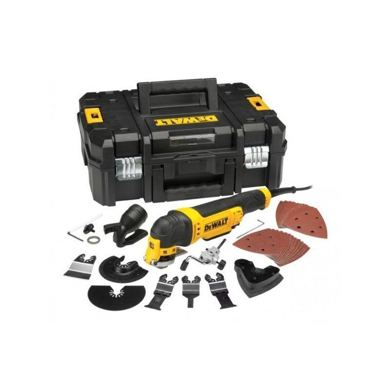DEWALT Multi-Cutter DEWALT 300 W Filaire + Accessoires Coffret T-STAK