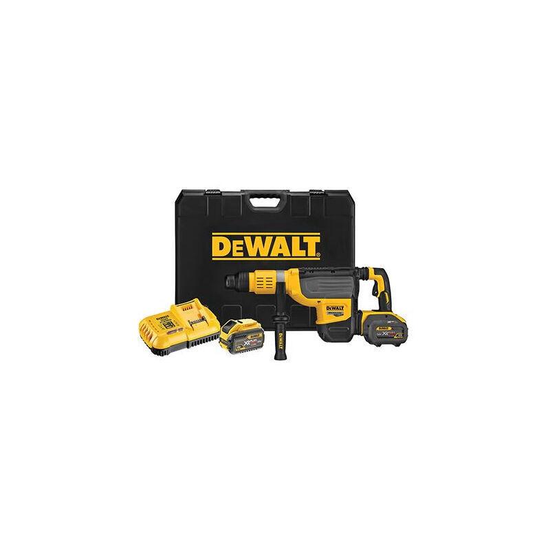 DEWALT Perforateur SDS-Max FlexVolt 54V 4Ah 19.4J DEWALT - DCH773Y2
