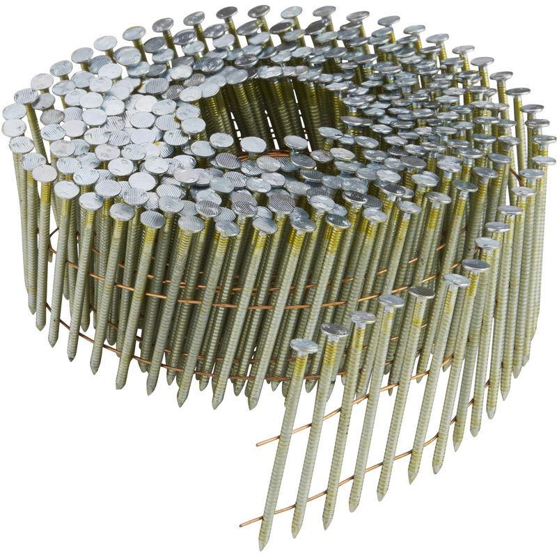 DeWALT Clous à rouleau DNN 55 mm, cranté, 24500 pièces, galvanisé