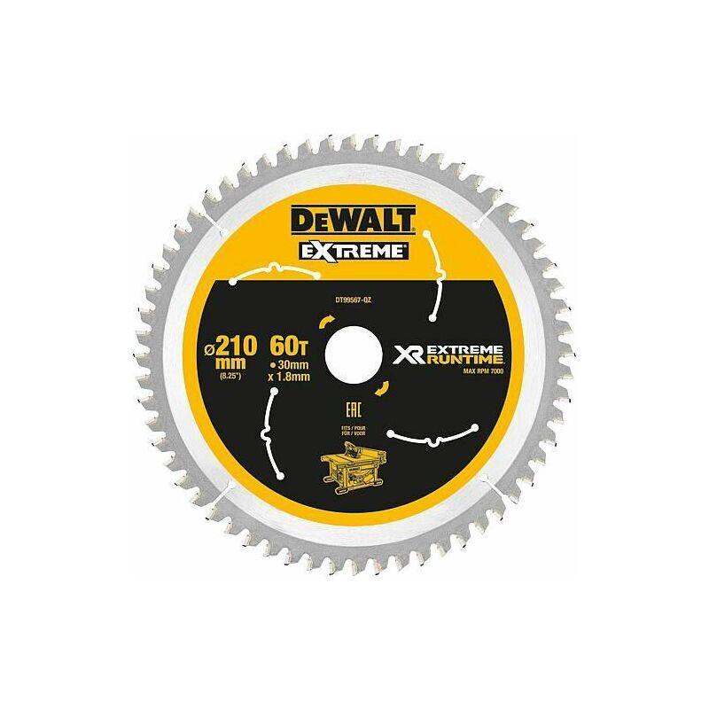 Banyo - Lame de scie circulaire DeWalt, DT99567 XR Extreme Runtime 60Z