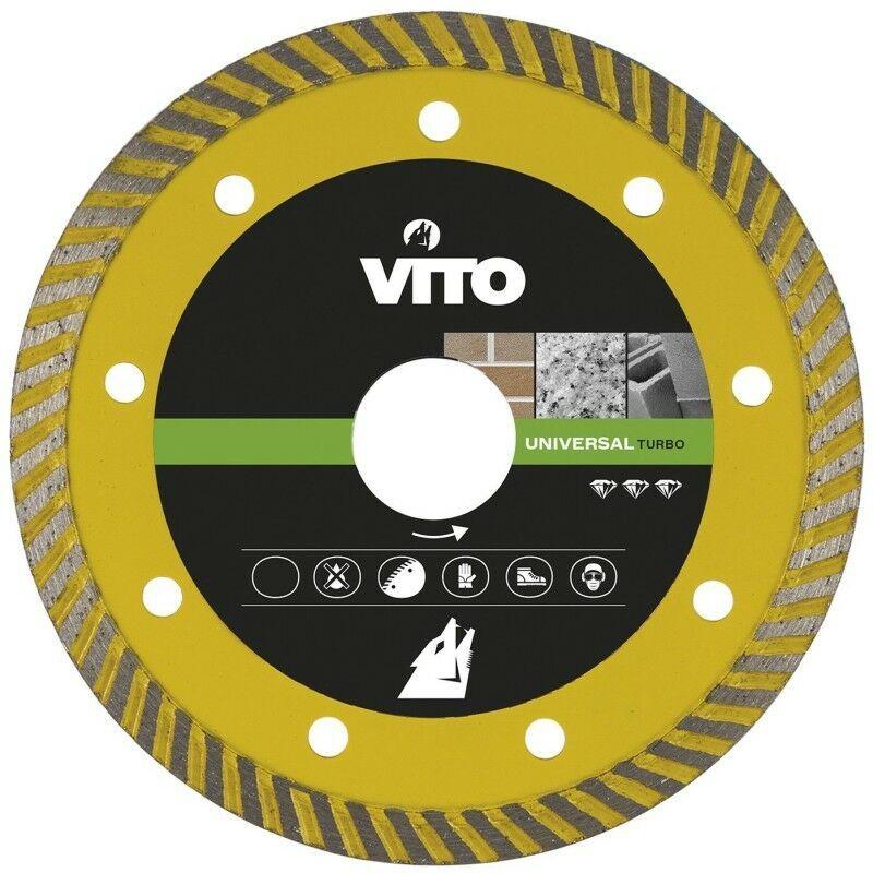 Vito Pro-power - Disque diamant 115mm VITO Pierre,Marbre Granit Alesage