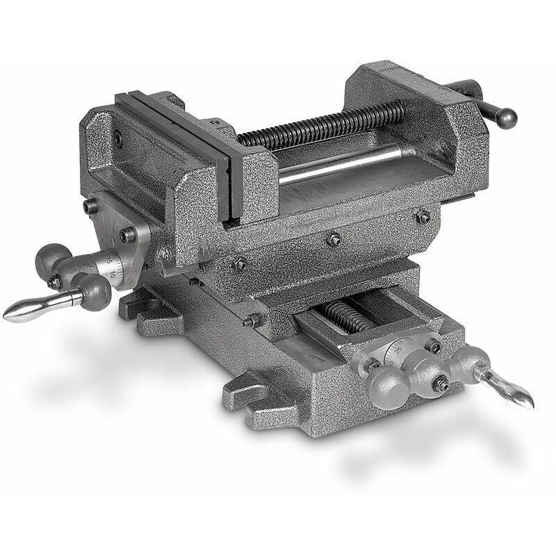 MW-TECH Étau de perceuse sur table croisée MW-Tech BAVALR160